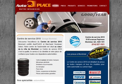 Montreal auto repair and car tire