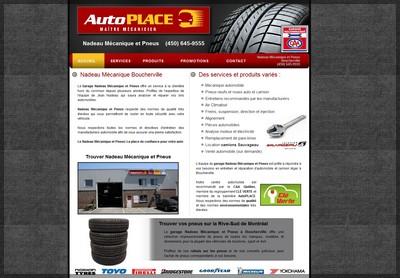 garage et pneus boucherville Nadeau Mécanique