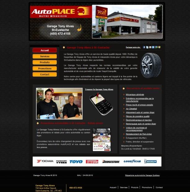 mécanique, pneus, pneu et garage auto a St-Eustache