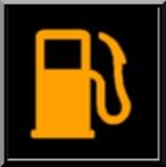 niveau d'essence bas