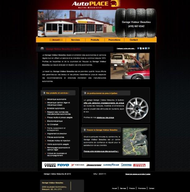 garage viateur beaulieu mécanique et pneus quebec