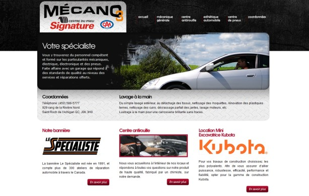 Site web pour garage le sp cialiste uni s lect mon for Site internet pour garage automobile