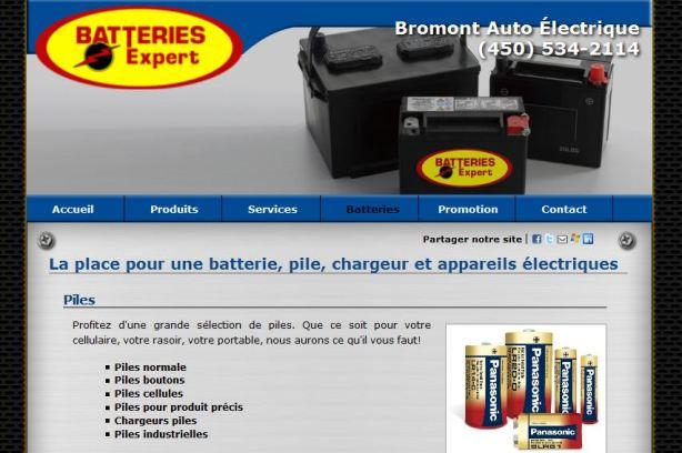 Batterie Bromont