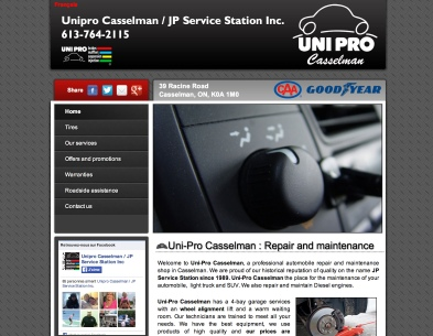 Garage Uni-Pro Casselman