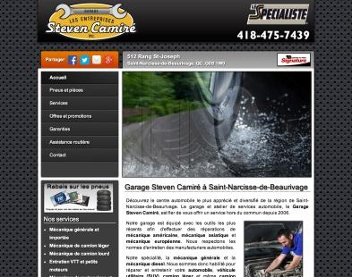 Garage Steven Camiré St-Narcisse