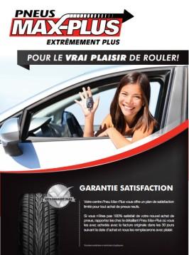 Garantie de satisfaction 30 jours sur les pneus neufs au Québec